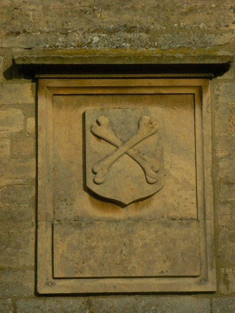 Woolsthorpe Manor coat of arms