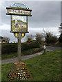 TG3131 : Edingthorpe - village sign by Evelyn Simak