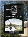 NY8545 : Sign for the Allenheads Inn by Mike Quinn