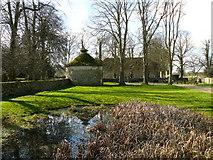 SU1070 : Avebury - Pond by Chris Talbot