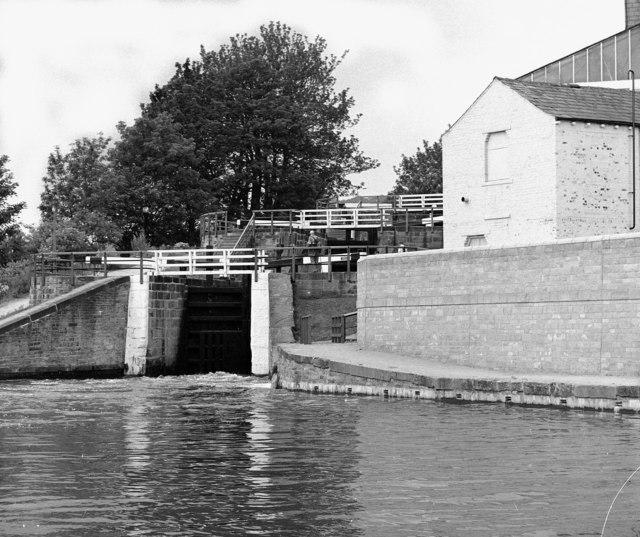 Three Rise locks, Bingley, Leeds and Liverpool Canal