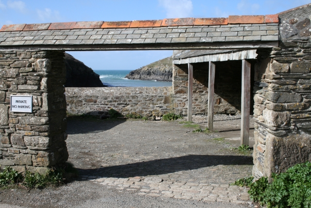 Port Quin, view from the car park
