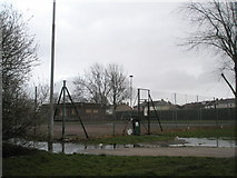 SU6403 : Deserted tennis courts at Alexandra Park by Basher Eyre