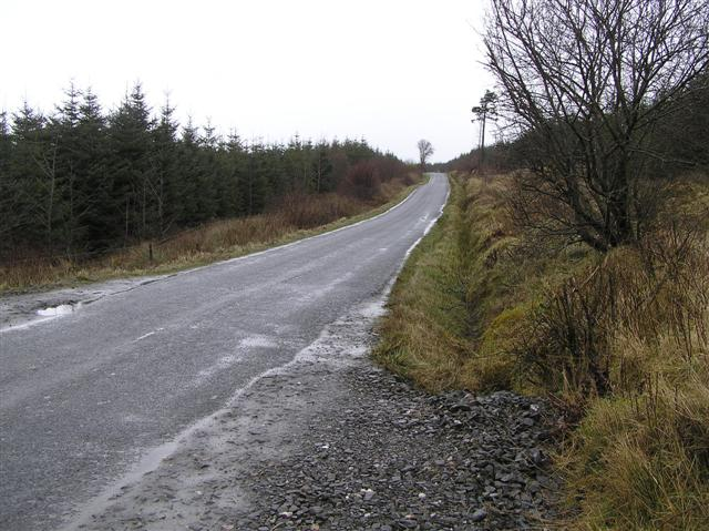 Road at Taughboy