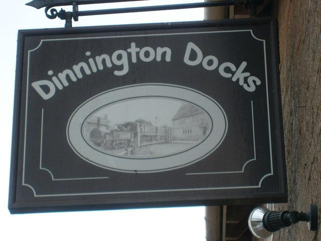 Dinnington Docks Pub Sign