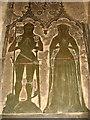 TG1939 : St Margaret's church - memorial brass by Evelyn Simak