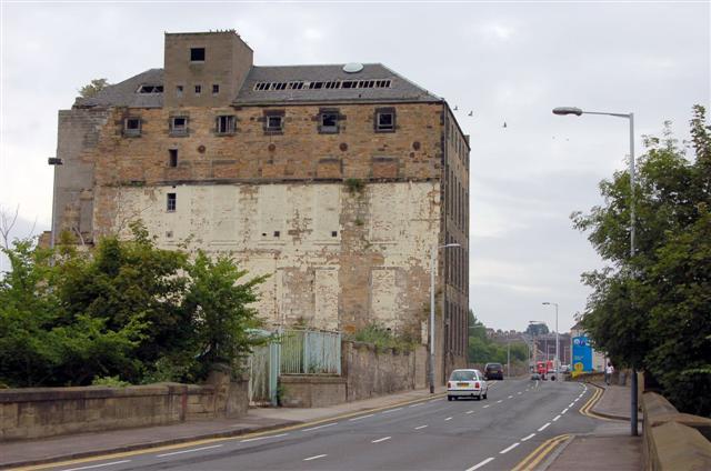 Former linoleum factory