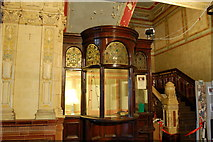 SD4364 : The old box office, Morecambe Winter Gardens by hayley green