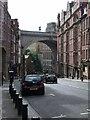 NZ2563 : Railway Viaduct over Dean Street by Keith Edkins
