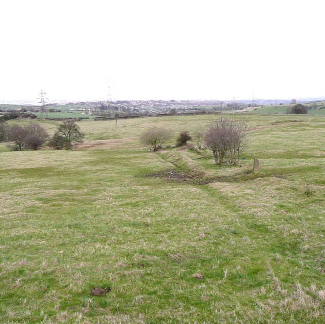 Footpath off Liley Lane, Whitley Upper