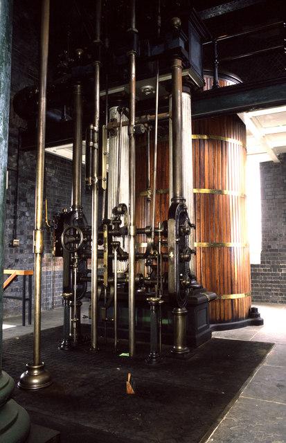 Cornish beam pump, Sandfields Pumping station