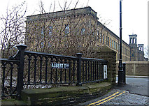 SE1338 : Albert Terrace, Saltaire by michael ely