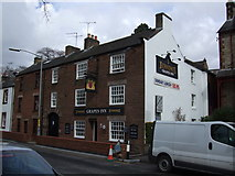 NY6820 : Grapes Inn, Appleby-in-Westmorland by Adie Jackson