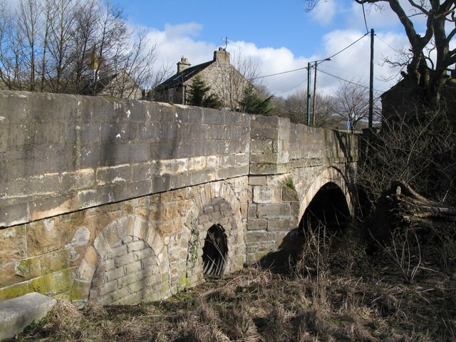 Eastgate Bridge over Rookhope Burn