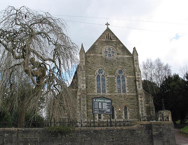 St. Stephen's Church, Belle Vue Road, Cinderford