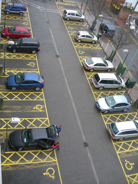 Image result for disabled parking bays