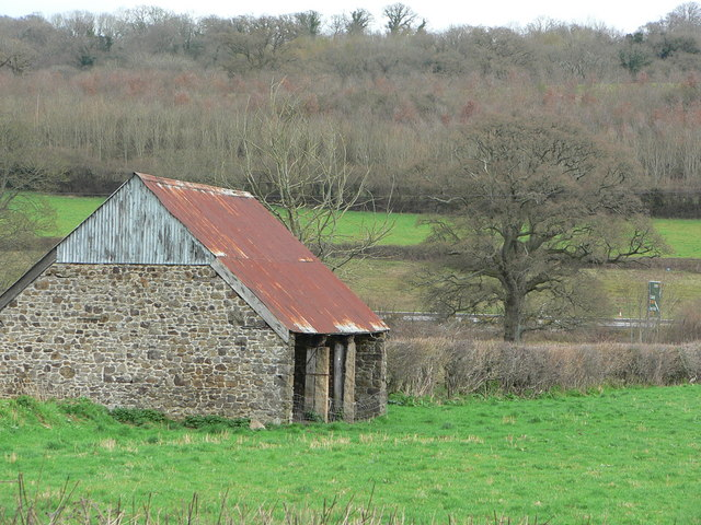 Typical Devonshire barn
