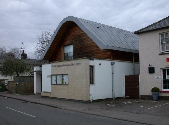 Little Shelford Memorial Hall 2000