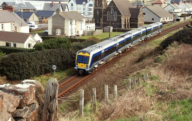 Railway at Castlerock