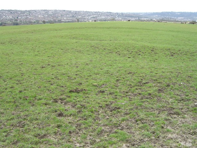 Patcham Tegdown hill, earthwork