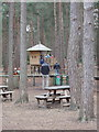 SU8766 : Picnic and play area, Swinley Forest, Bracknell by David Hawgood
