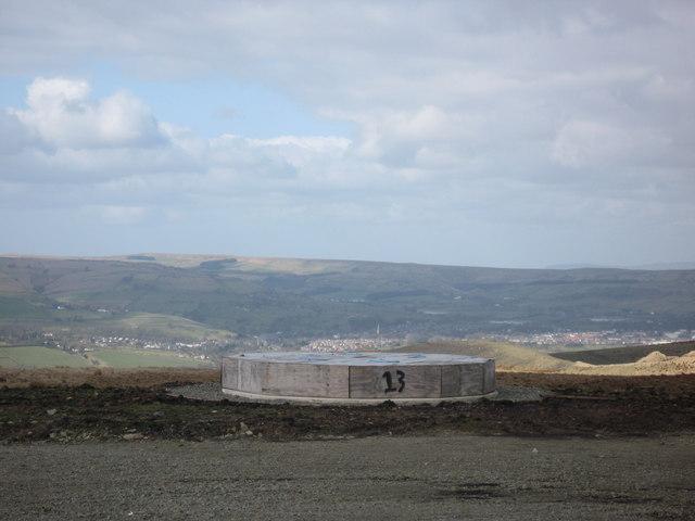 Scout Moor Turbine Base No 13