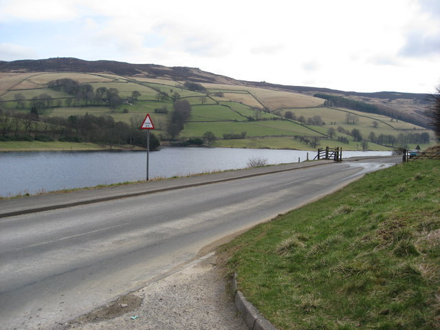 Ladybower Reservoir - Bridge End Car Park View
