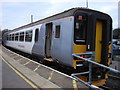 TL9123 : Class 156 in new livery at Marks Tey platform 3 by Oxyman