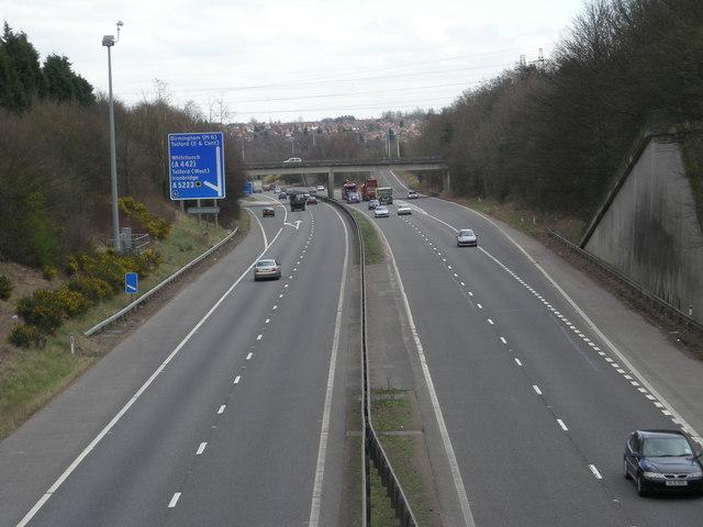 Nearing junction 6