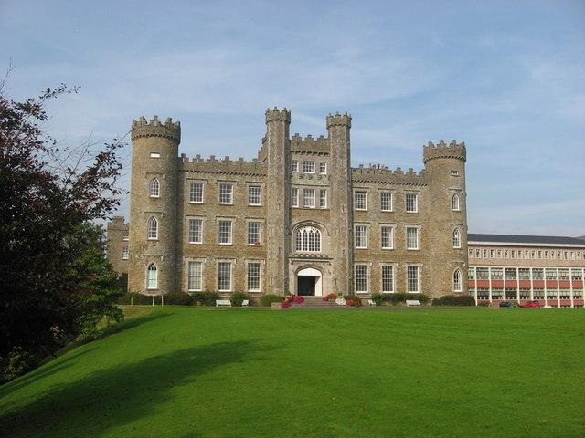Gormanston Castle front facade