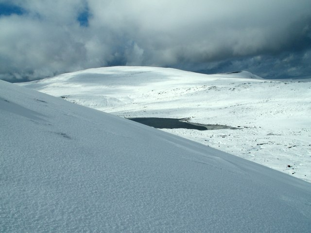 From the northern flank of Beinn Teallach