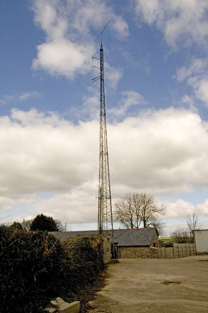 Radio Mast, Shirwell Cross