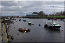 NS3975 : River Leven, Dumbarton by Stephen McKay