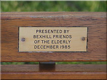 TQ7306 : Stereotyping Bexhill by Brian Whittle