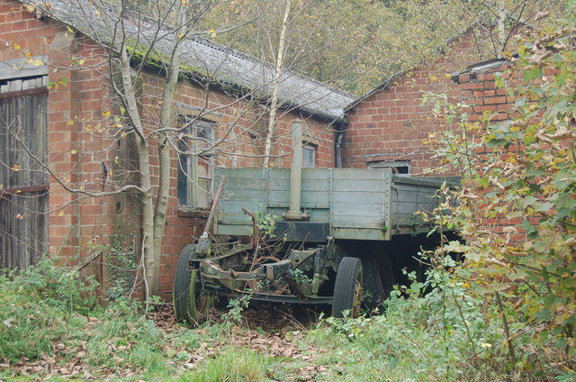 Remnants of old truck