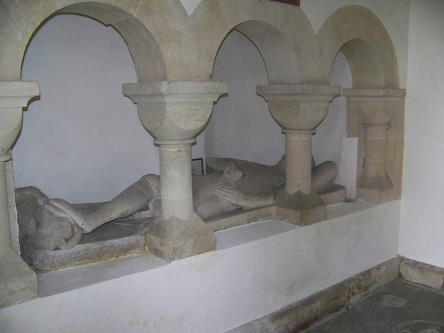 Effigy, St Peter's Church, Swallowcliffe