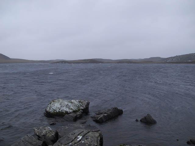 Rocks at Loch Eilastar