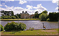 TQ3398 : Forty Hall with Lake, Enfield by Christine Matthews