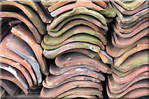 TF1860 : Roof tile pile by David Lally