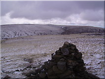 SD7695 : Cairn, Swarth Fell Pike by Michael Graham