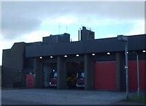 NS5565 : Govan Fire Station by Lynn M Reid