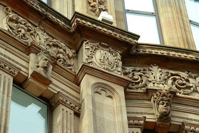 Former Anderson & McAuley's, Belfast (detail) (3)