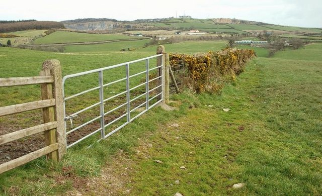 Countryside near Craigantlet