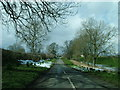 NY6823 : Road into Brampton Village by David Brown