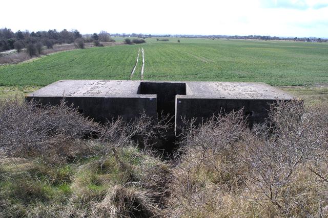 Pillbox by Theddlethorpe dunes