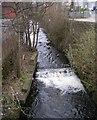 SE0924 : Hebble Brook - Water Lane by Betty Longbottom