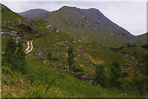 NM9184 : Track north of Corryhully by Nigel Brown