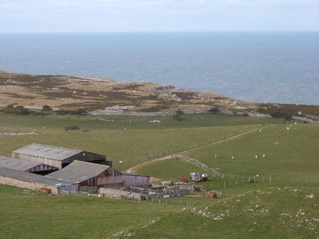 View from the top of the Great Orme