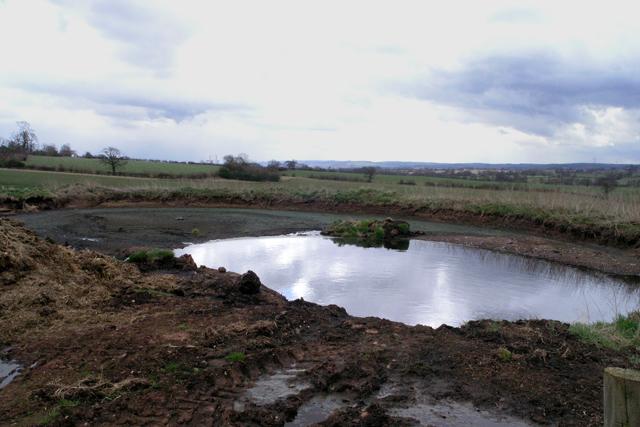 Small pond near Newton