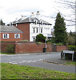 SO5239 : Elgar Court, once known as Plas Gwyn by Pauline E